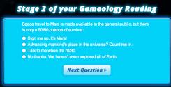 Mattel Game On! Gameology — Gameology Quiz — Stage 2