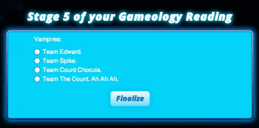 Mattel Game On! Gameology — Gameology Quiz — Stage 5