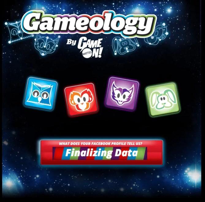 Mattel Game On! Gameology — Gameology Quiz — Acquiring Results