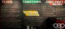 #BramptonTweetup — Sul Irmaos Smoke House — Chalkboard Menu