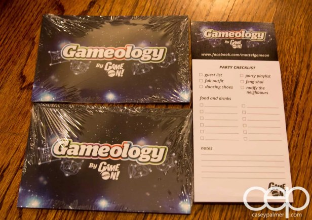 Mattel Game On! Gameology — Mattel Game On! Gameology — Invites and Checklists