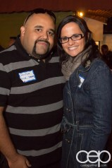 TacoTweetup — Justin Baisden and Tiffany Heimpel