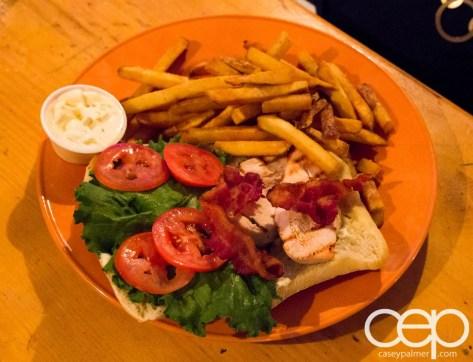 Viamede Resort & Dining — The Boathouse Pub — Roasted Chicken Club