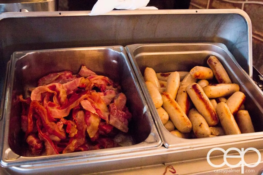 Viamede Resort & Dining — 1885 — Bacon and Farmer's Sausage