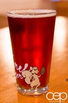Viamede Resort & Dining — The Boathouse Pub — Barking Squirrel Lager Glass Back