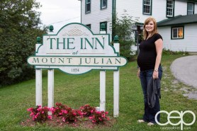 Viamede Resort & Dining — The Inn at Mount Julian — Sarah and the Sign