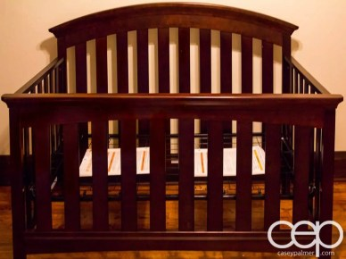 The DoomzToo Birth Story — The Nursery — The Crib — The Frame