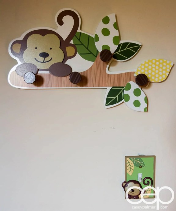 The DoomzToo Birth Story — The Nursery — Rack and Switchplate