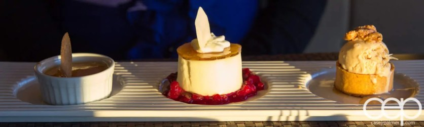 CN Tower — 360 - The Restaurant at the CN Tower — Summer Menu - Prix Fixe — MAPLE SYRUP THREE WAYS