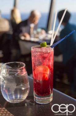 CN Tower — 360 - The Restaurant at the CN Tower — Tower Skinnies — TROPICAL RED SORREL COOLER