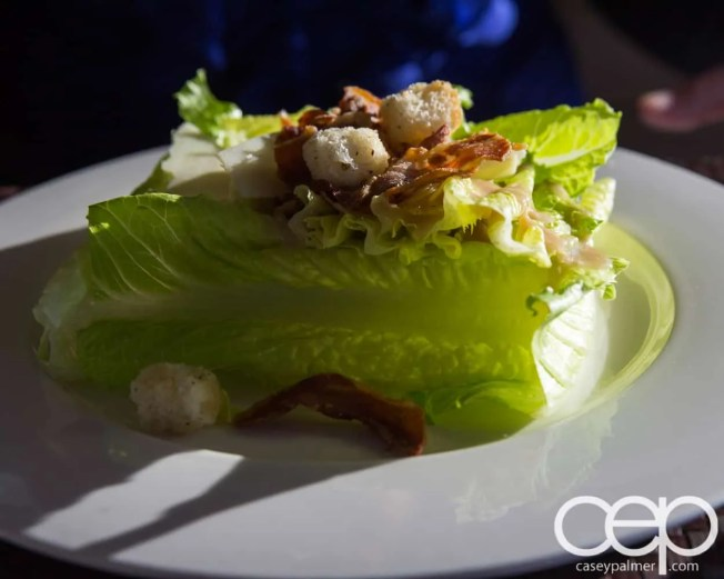 CN Tower — 360 - The Restaurant at the CN Tower — Summer Menu - Prix Fixe — 360 CAESAR SALAD