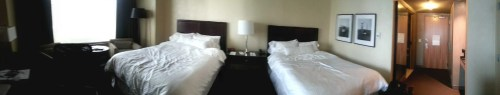 #FordNAIAS 2014 — The Westin Detroit Metropolitan Airport — Double Guest Room — Panorama