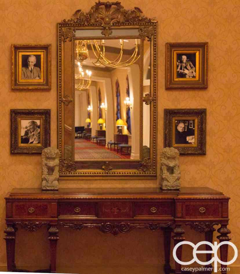 #FordNAIAS 2014 — Day 3 — The Dearborn Inn — Antique Mirror