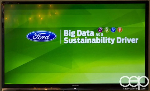 #FordNAIAS 2014 — Day 3 — The Dearborn Inn — Learning Sessions — Big Data as a Sustainability Driver — Title Screen