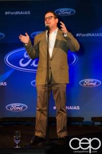 #FordNAIAS 2014 — Day 1 — The Westin Lindbergh Ballroom — Dinner Event — The Moth Storytelling Presentation — Adam Wade