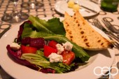 #FordNAIAS 2014 — Day 1 — The Westin Lindbergh Ballroom — Dinner Event — Salad