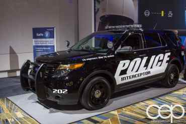 #FordNAIAS 2014 — Day 2 — Behind the Blue Oval — Safe — Ford Police Interceptor with 3.5-liter EcoBoost Engine