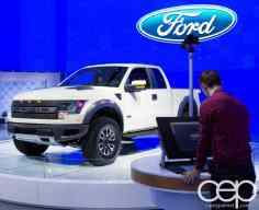 #FordNAIAS 2014 — Day 2 — Cobo Hall — North American International Auto Show — Ford Motor Company — Digital Rendering