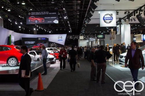 #FordNAIAS 2014 — Day 2 — Cobo Hall — North American International Auto Show — Floor
