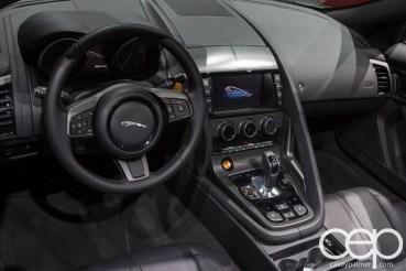 #FordNAIAS 2014 — Day 2 — Cobo Hall — North American International Auto Show — Jaguar — Jaguar Land Rover — Dashboard