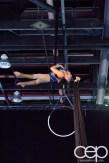 #FordNAIAS 2014 — Day 2 — Cobo Hall — North American International Auto Show — Aerial Ribbon Dancer