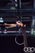 #FordNAIAS 2014 — Day 2 — Cobo Hall — North American International Auto Show — Aerial Ribbon Dancer