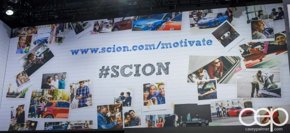 #FordNAIAS 2014 — Day 2 — Cobo Hall — North American International Auto Show — Scion — Overhead Design