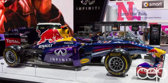 #FordNAIAS 2014 — Day 2 — Cobo Hall — North American International Auto Show — Infiniti — Race Car
