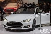 #FordNAIAS 2014 — Day 2 — Cobo Hall — North American International Auto Show — Tesla — Tesla Model S
