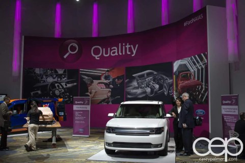 #FordNAIAS 2014 — Day 2 — Cobo Hall — Behind the Blue Oval — Quality — Clay Modelling and Visual Performance Evaluation Lab