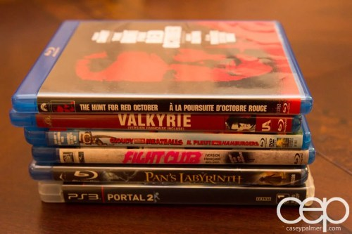 Karen and Colin's Blu-Rays