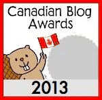 2013 Canadian Blog Awards — Silver Medal