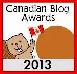2013 Canadian Blog Awards — Bronze Medal