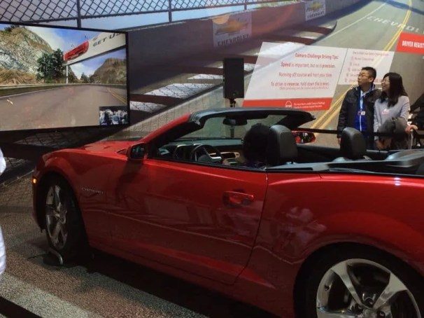 Canadian International Auto Show 2014 — Chevy Camaro Challenge —
