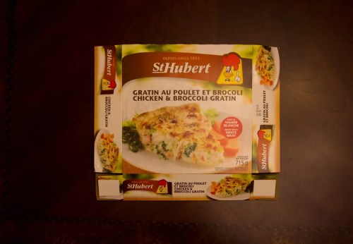 #100HappyDays — Day 10 — St Hubert Chicken & Broccoli Gratin
