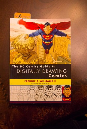 #100HappyDays—Day 15—The DC Comics Guide to Digitally Drawing Comics
