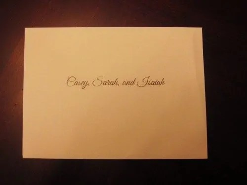 #100HappyDays — Day 22 — Wedding Invitation to the Family