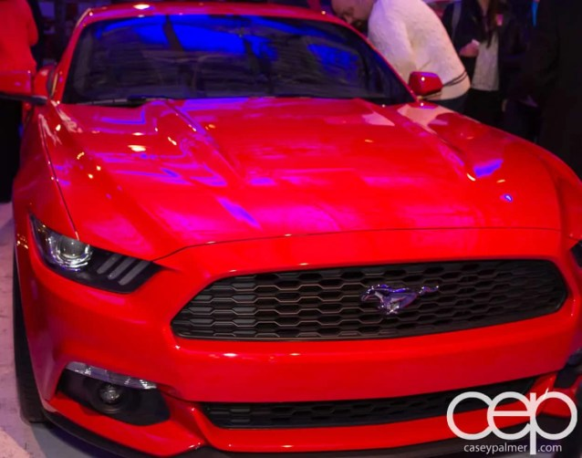 Ford Motor Company of Canada — #FordMustang50 — 2015 Ford Mustang — Red