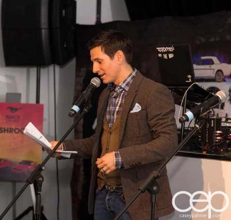 Ford Motor Company of Canada — #FordMustang50 — MC Rick Campanelli from Entertainment Tonight Canada