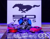 Ford Motor Company of Canada — #FordMustang50 — Mustang 50 Year Cake