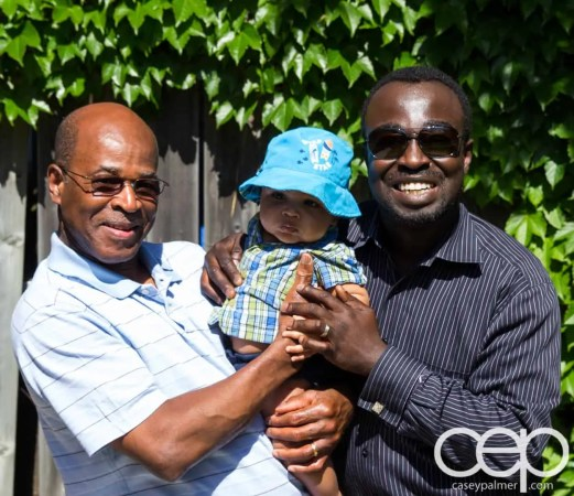 #BubblesMyWay First Father's Day — Three Generations of Palmer Boys