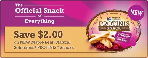 Maple Leaf Foods #Protinis — PROTINIS COUPON
