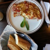 Monthly WrapUp — May — Patisserie la Cigogne — Omlette Provençale and Baguette