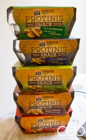 Maple Leaf Food #Protinis — Stacked