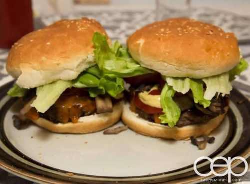 #DIYSandwich—Quick and Easy Summer Burger—Finished Products