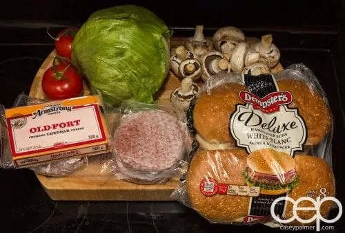 #DIYSandwich — Quick and Easy Summer Burger — Ingredients