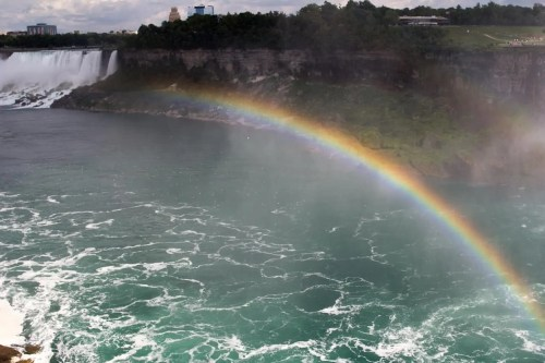 Niagara Falls—A Shot Over the Falls