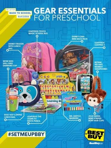 BTS Backpack Campaign — Preschool