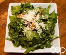 G... for Gelato and Espresso Bar — Pizza Party — Arugula Salad