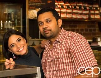 G... for Gelato and Espresso Bar — Pizza Party — Davindra and Arda